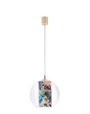 Lampa wisząca Feria S 10906116 KASPA pojedyncza oprawa w dekoracyjnym stylu