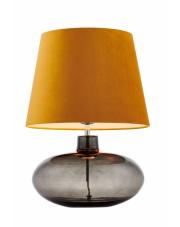 Lampa stołowa Sawa Velvet 41022105 KASPA złota oprawa z dymioną podstawą