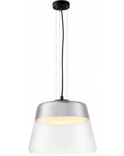 Lampa wisząca Spirit L 10826104 KASPA szklana oprawa w kolorze srebrnym
