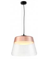 Lampa wisząca Spirit L 10831117 KASPA szklana oprawa w kolorze miedzianym