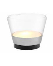 Lampa stołowa Spirit L 40829104 KASPA transparentna oprawa w nowoczesnym stylu