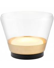 Lampa stołowa Spirit XL 40825105 KASPA złota oprawa w nowoczesnym stylu