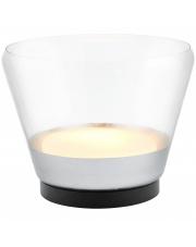 Lampa stołowa Spirit XL 40830104 KASPA srebrna oprawa w nowoczesnym stylu