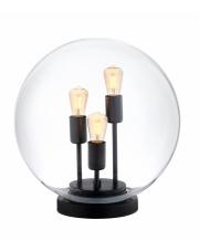 Lampa stołowa Surya 40741302 KASPA transparentna oprawa z kształcie kuli