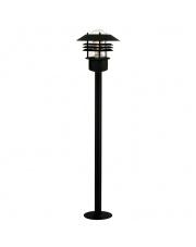 Lampa ogrodowa Vejers 25118003  Nordlux nowoczesna oprawa stojąca w kolorze czarnym