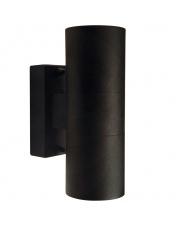 Kinkiet zewnętrzny Tin 21279903 Nordlux nowoczesna podwójna oprawa w kolorze czarnym