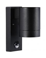 Kinkiet zewnętrzny Tin Maxi z czujnikiem ruchu 21509103 Nordlux nowoczesna oprawa w kolorze czarnym