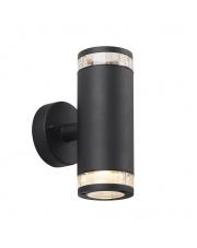 Kinkiet zewnętrzny Birk 45501003 Nordlux nowoczesna oprawa w kolorze czarnym