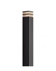Lampa ogrodowa Elm 45348003 Nordlux nowoczesna oprawa w kolorze czarnym