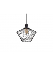 Lampa wisząca WAVE S 8858 Nowodvorski Lighting czarna oprawa w nowoczesnym stylu