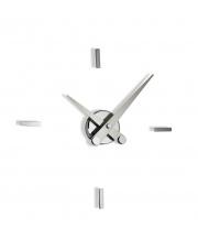 Zegar ścienny Puntos Suspensivos PSI004 4ts Nomon ze stalowymi wskazówkami