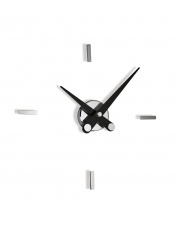 Zegar ścienny Puntos Suspensivos PSI004N 4ts Nomon z czarnymi wskazówkami