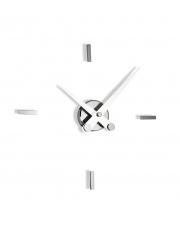 Zegar ścienny Puntos Suspensivos PSI004B 4ts Nomon z białymi wskazówkami