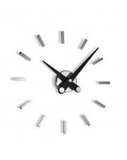 Zegar ścienny Puntos Suspensivos PSI012N 12sh Nomon z czarnymi wskazówkami
