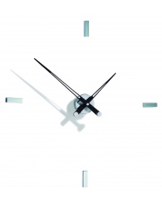 Zegar ścienny Tacón i 4sh TAI004N Nomon z czarnymi wskazówkami