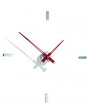 Zegar ścienny Tacón i 4sh TAI004R Nomon z czerwonymi wskazówkami