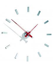 Zegar ścienny Tacón i 12sh TAI012R Nomon z czerwonymi wskazówkami