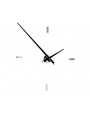 Zegar ścienny Tacón L 4sh TAL004N Nomon z czarnymi wskazówkami