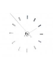 Zegar ścienny Tacón L 12sh TAL012B Nomon z białymi wskazówkami