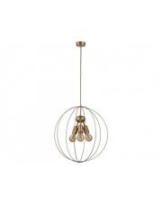Lampa wisząca BULLET 9061 Nowodvorski Lighting kulista oprawa w kolorze złotym