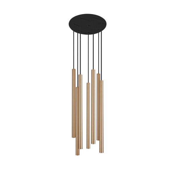 Żyrandol LASER 8921 Nowodvorski Lighting czarno mosiężna