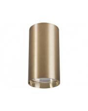 Plafon EYE S 8911 Nowodvorski Lighting mosiężna oprawa w kształcie tuby