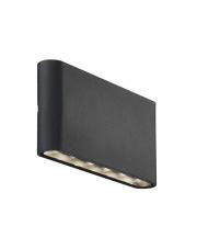 Kinkiet zewnetrzny Kinver 84181003 Nordlux nowoczesna oprawa w kolorze czarnym