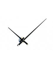 Zegar ścienny Axioma L AXL000N Nomon z czarnymi wskazówkami