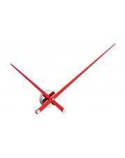Zegar ścienny Axioma L AXL000R Nomon z czerwonymi wskazówkami