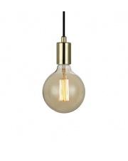 OFERTA MAGAZYNOWA Lampa wisząca SKY 106170 Markslojd pojedynczy zwis w kolorze mosiądzu z miejscem na żarówkę z gwintem E 27
