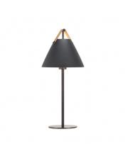 Lampa stołowa Strap 46205003 Nordlux nowoczesna oprawa w kolorze czarnym