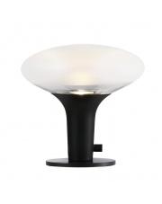 Lampa stołowa Dee 2.0 84435003 Nordlux czarna dekoracyjna oprawa z mrożonego szkła