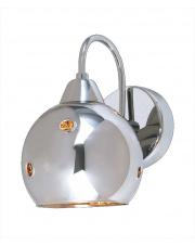 WYSYŁKA 24H! Kinkiet Martin MBM1671/1 Italux chromowa designerska lampa na ścianę