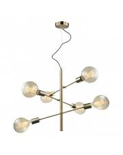 OFERTA MAGAZYNOWA Lampa wisząca Madalyn MDM3582/6 AB Italux nowoczesna brązowa oprawa wisząca
