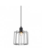 OFERTA MAGAZYNOWA Lampa wisząca Gervais MDM-3342/1 BK Italux czarna designerska oprawa wisząca
