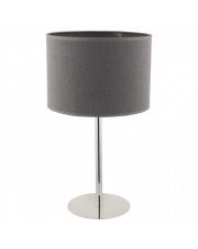 Lampa stołowa HOTEL 9301 Nowodvorski Lighting nowoczesna oprawa stojąca w kolorze szarym