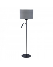 Lampa podłogowa HOTEL PLUS 9072 Nowodvorski Lighting podwójna szara oprawa w nowoczesnym stylu