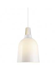 Lampa wisząca Karma 20 43443012  Nordlux nowoczesna oprawa szklana w kolorze białym