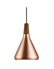 Lampa wisząca Float 18 78203030 Nordlux nowoczesna oprawa w kolorze miedzianym
