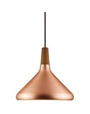 Lampa wisząca Float 27 78213030 Nordlux nowoczesna oprawa w kolorze miedzi