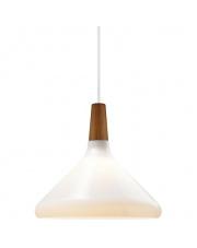 Lampa wisząca Float 27 78213001 Nordlux nowoczesna oprawa w kolorze białym