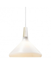 Lampa wisząca Float 27 43213001 Nordlux nowoczesna oprawa w kolorze białym