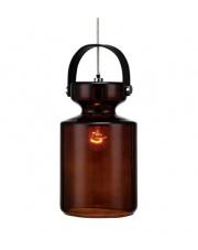 PROMOCJA! Lampa wisząca MILK 105778 Markslojd dekoracyjna brązowa lampa wisząca