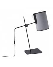 Lampa biurkowa ZELDA 6012 Nowodvorski Lighting szara oprawa stojąca w stylu design