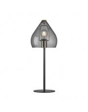 Lampa stołowa Sence 46125047 Nordlux nowoczesna oprawa w kolorze dymionego szkła