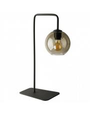 Lampa stołowa MONACO 9308 Nowodvorski Lighting nowoczesna pojedyncza oprawa z dymionego szkła