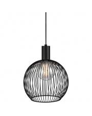 Lampa wisząca Aver 30 84243003 Nordlux czarna oprawa w stylu design
