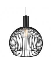 Lampa wisząca Aver 40 84253003 Nordlux czarna oprawa w stylu design
