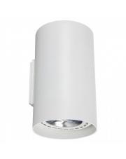 Kinkiet TUBE 9317 Nowodvorski Lighting pionowa biała oprawa ścienna
