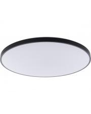 Plafon AGNES ROUND LED 9163 Nowodvorski Lighting czarna oprawa w nowoczesnym stylu